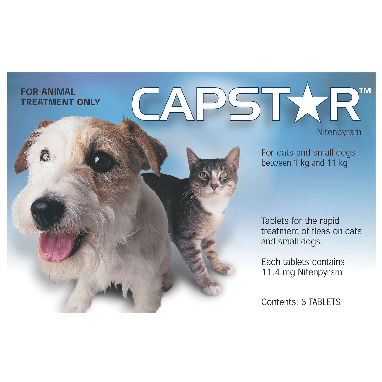 Capstar Flea Control Tablets for Cats And Small Dogs 0.5-11Kg
