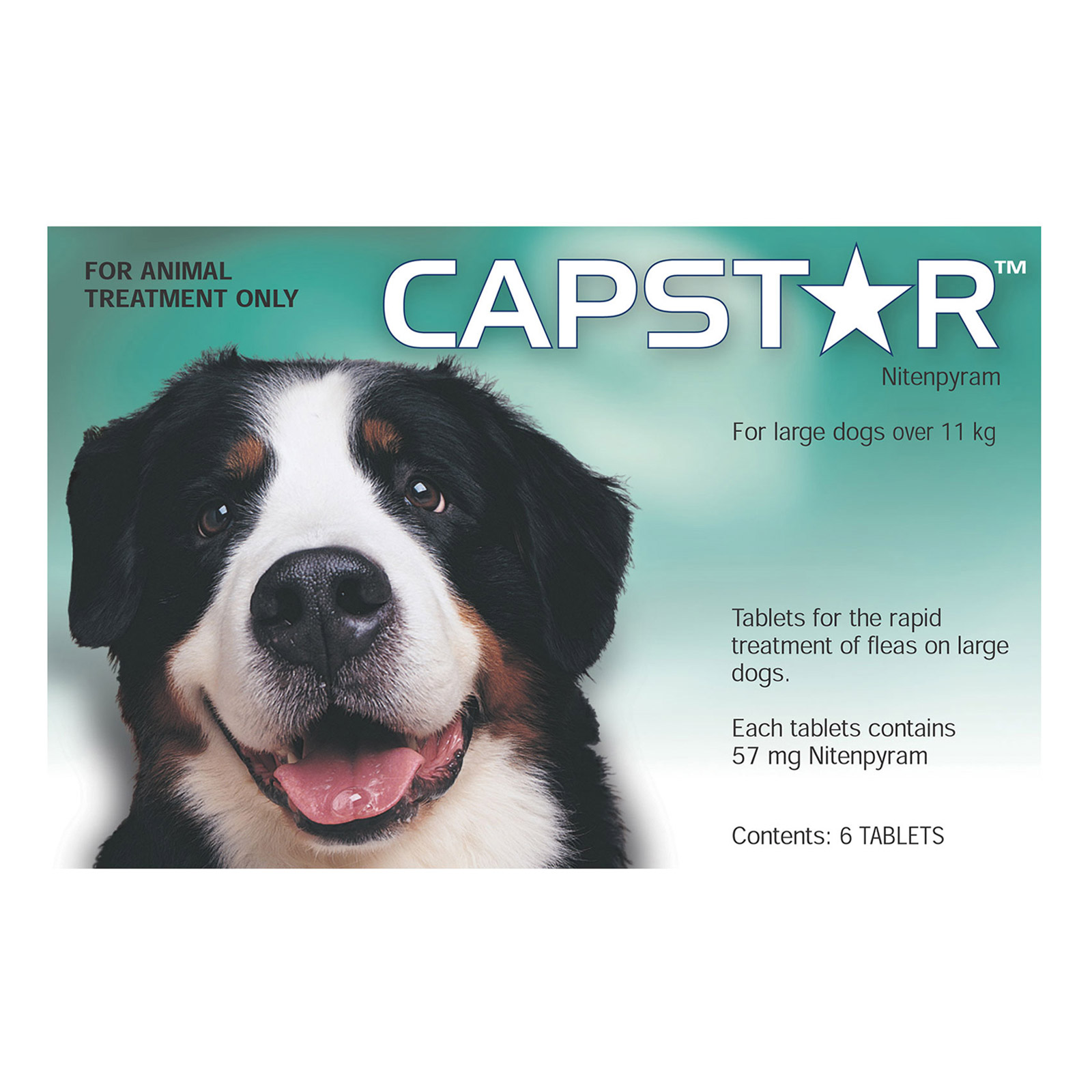 Capstar for Dogs For Large Dogs over 11Kg (Green)