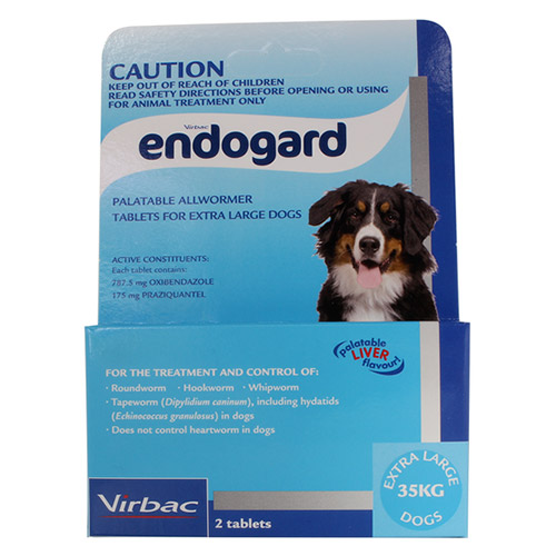 Endogard For Dogs For Extra Large Dogs 35Kg (Blue)