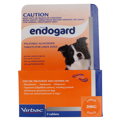 Endogard For Dogs For Large Dogs 20Kg (Purple)