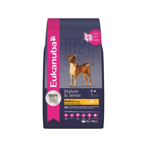 Eukanuba Mature & Senior Medium Breed Formula