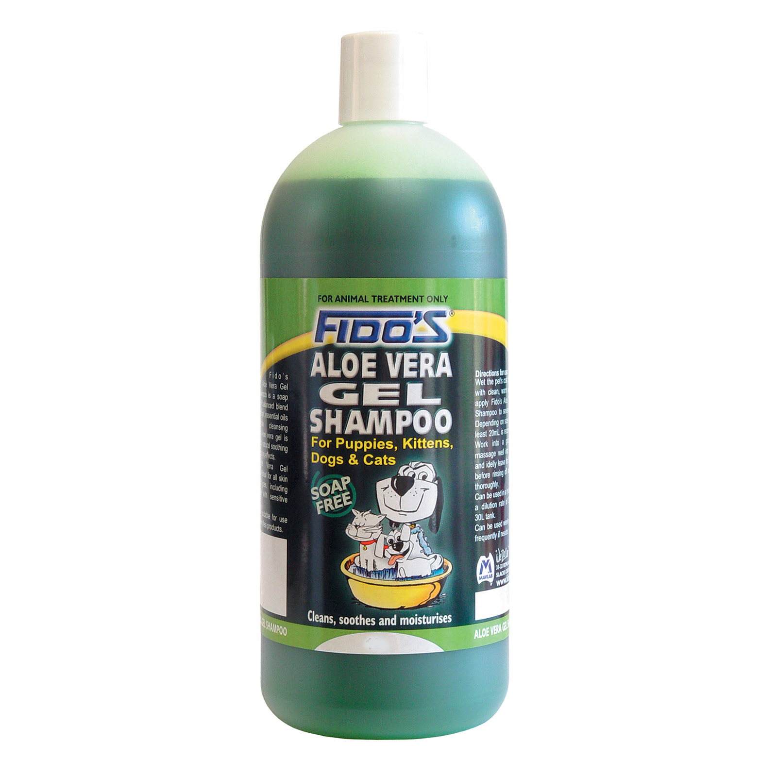 Fidos Aloe Vera Shampoo For Dogs