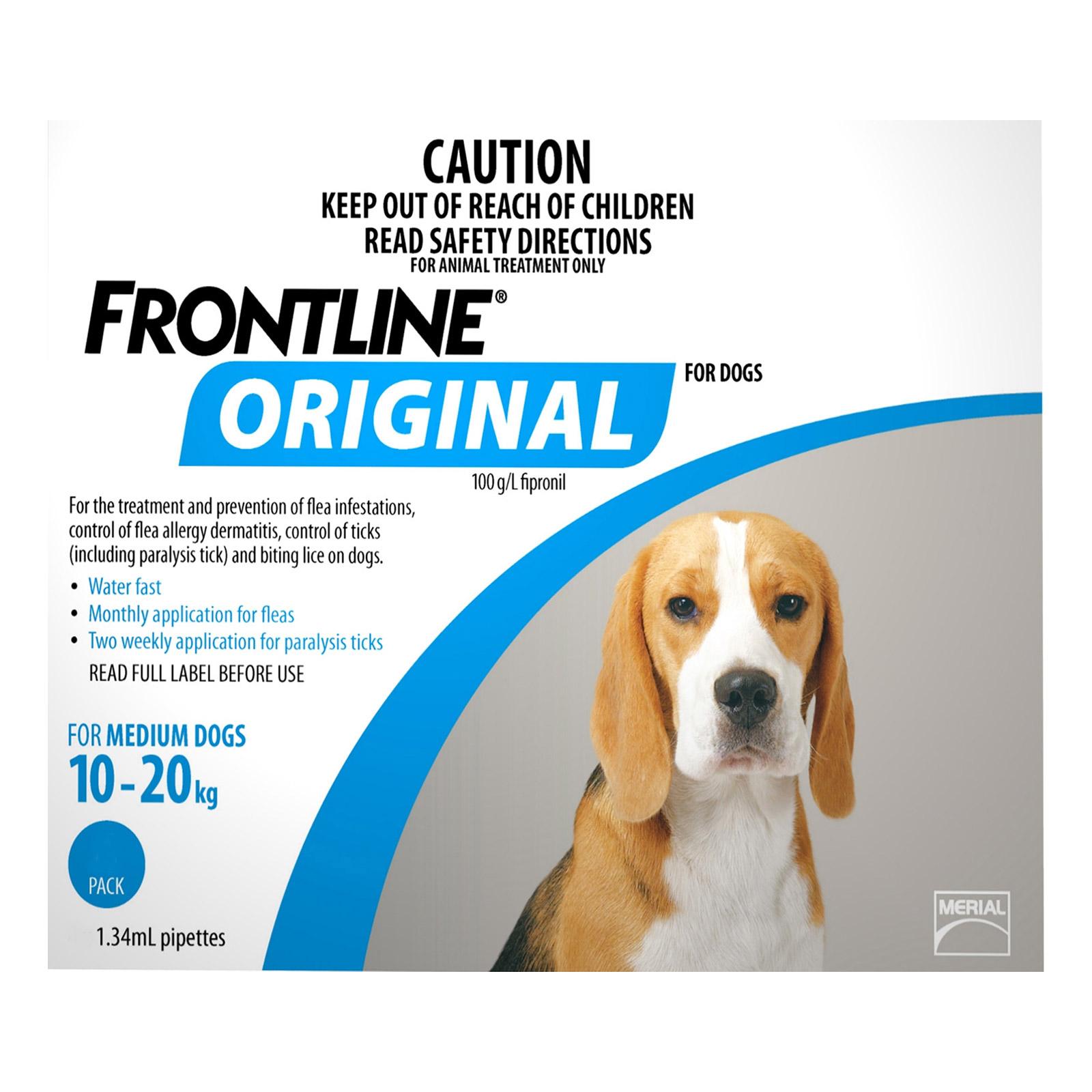 For Medium Dogs 10-20Kg (Blue)