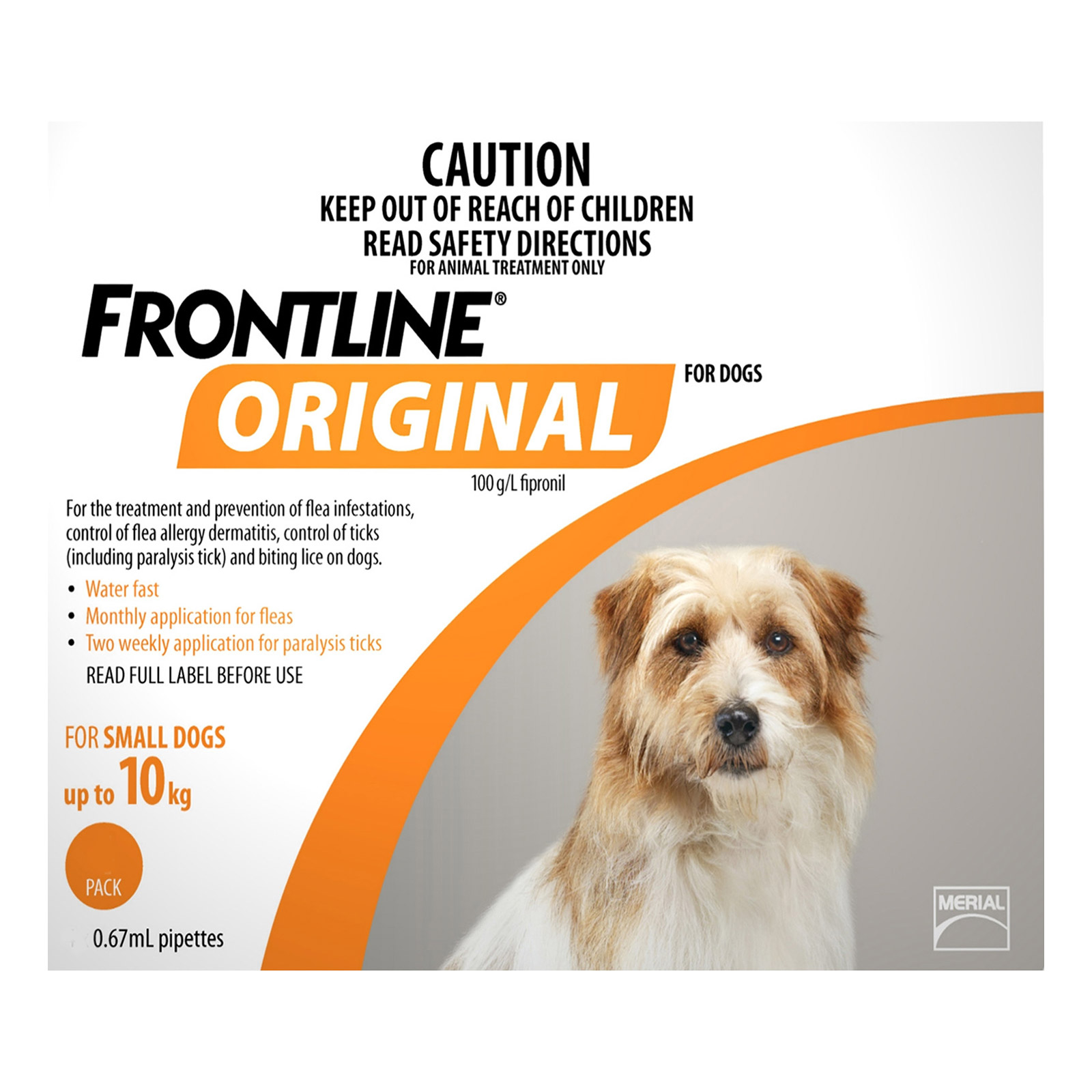 For Small Dogs Up To 10Kgs (Orange)