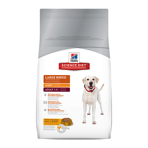 Hill's Science Diet Adult Large Breed Light Dog Food