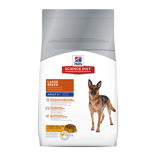 Hill's Science Diet Adult 6+ Large Breed Dry Dog Food