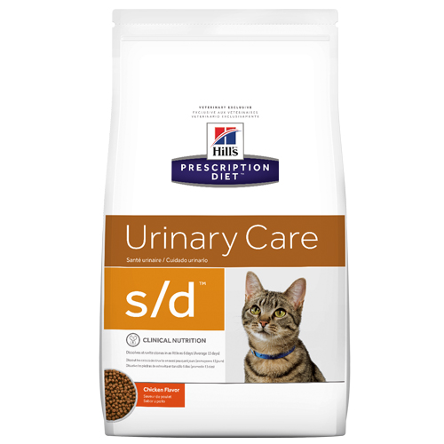 Hill's Prescription Diet s/d Urinary Care with Chicken Dry Cat Food