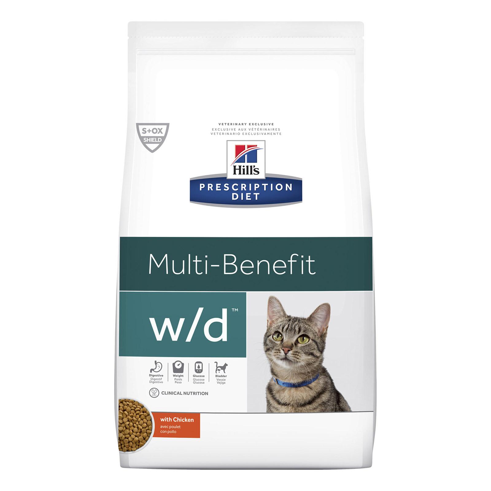 Hills Prescription Diet W D Dry Cat Food