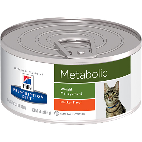 Hill's Prescription Diet Metabolic Weight Management Canned Cat Food 156 Gm