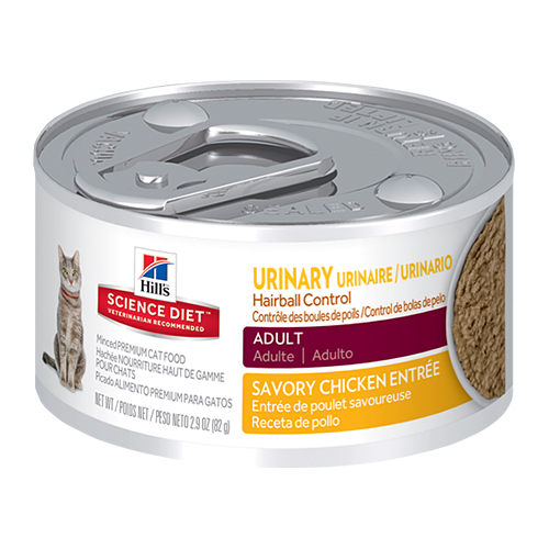 Hill's Science Diet Adult Urinary Hairball Control Canned Cat Food 82 Gm