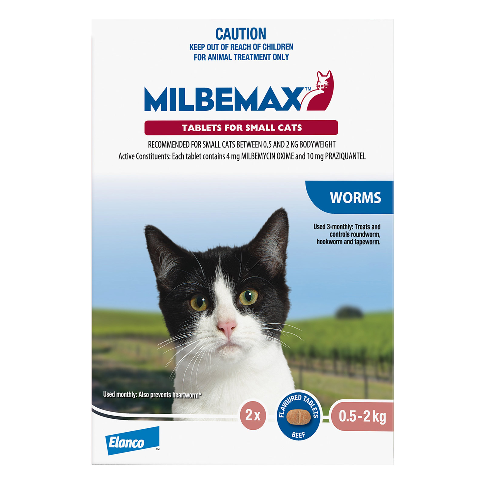 Milbemax Allwormer Tablets