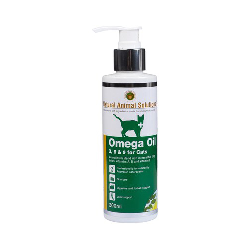 Natural Animal Solutions Omega 3,6 & 9 Oil for Cats