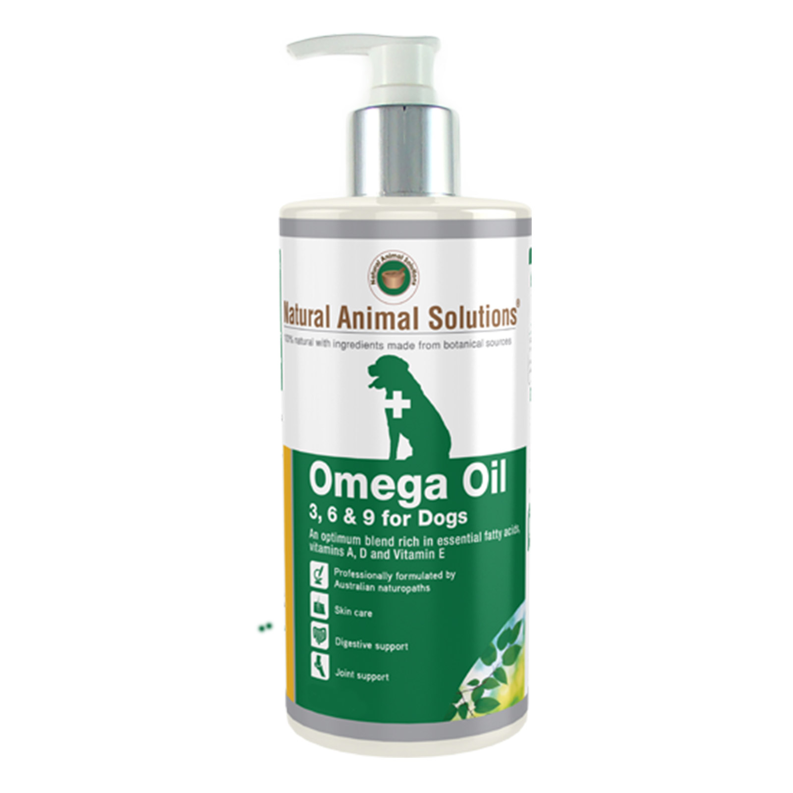 Natural Animal Solutions Omega 3,6 & 9 Oil for Horses & Dogs