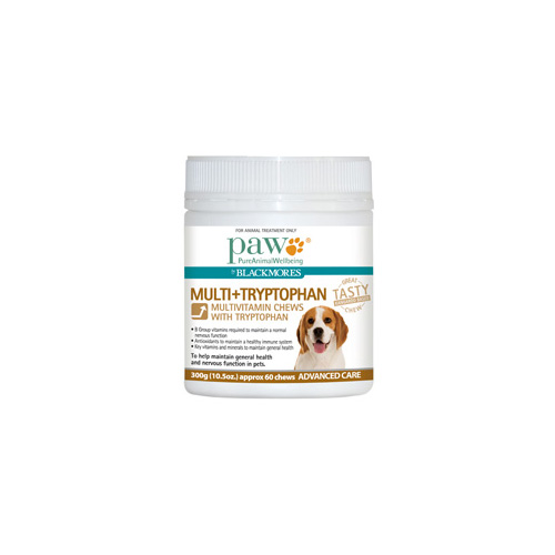 Paw Multi+Tryptophan Chews Changed to PAW Complete Calm