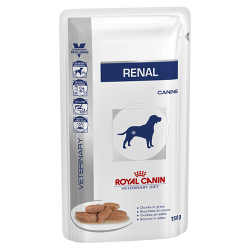 Royal Canin Vet Diet Renal Dog Food Pouch 150 Gm