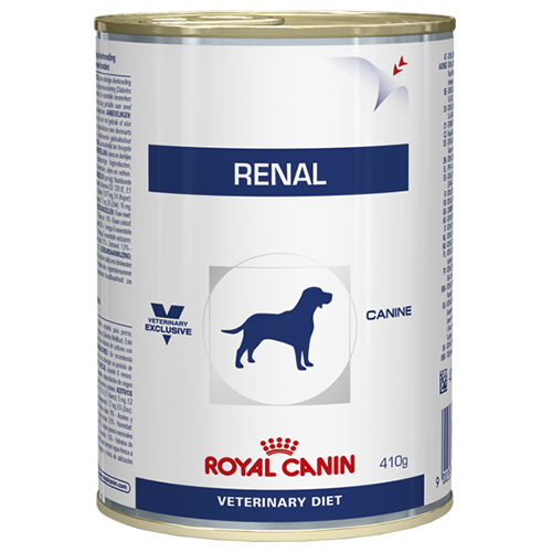 Royal Canin Vet Diet Renal Dog Food Cans 410 Gm