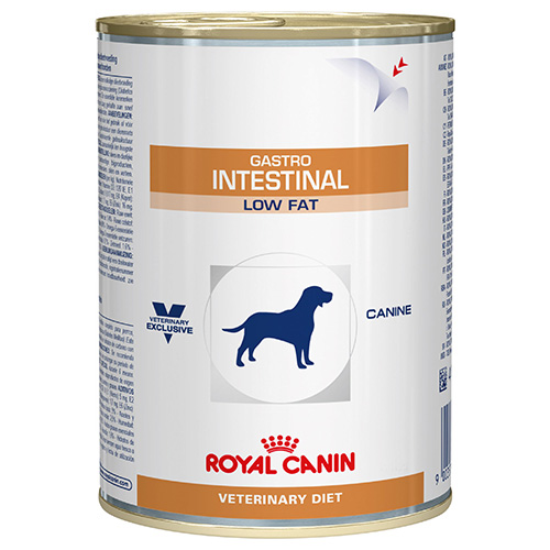 Royal Canin Canine Gastrointestinal Low Fat Food Cans