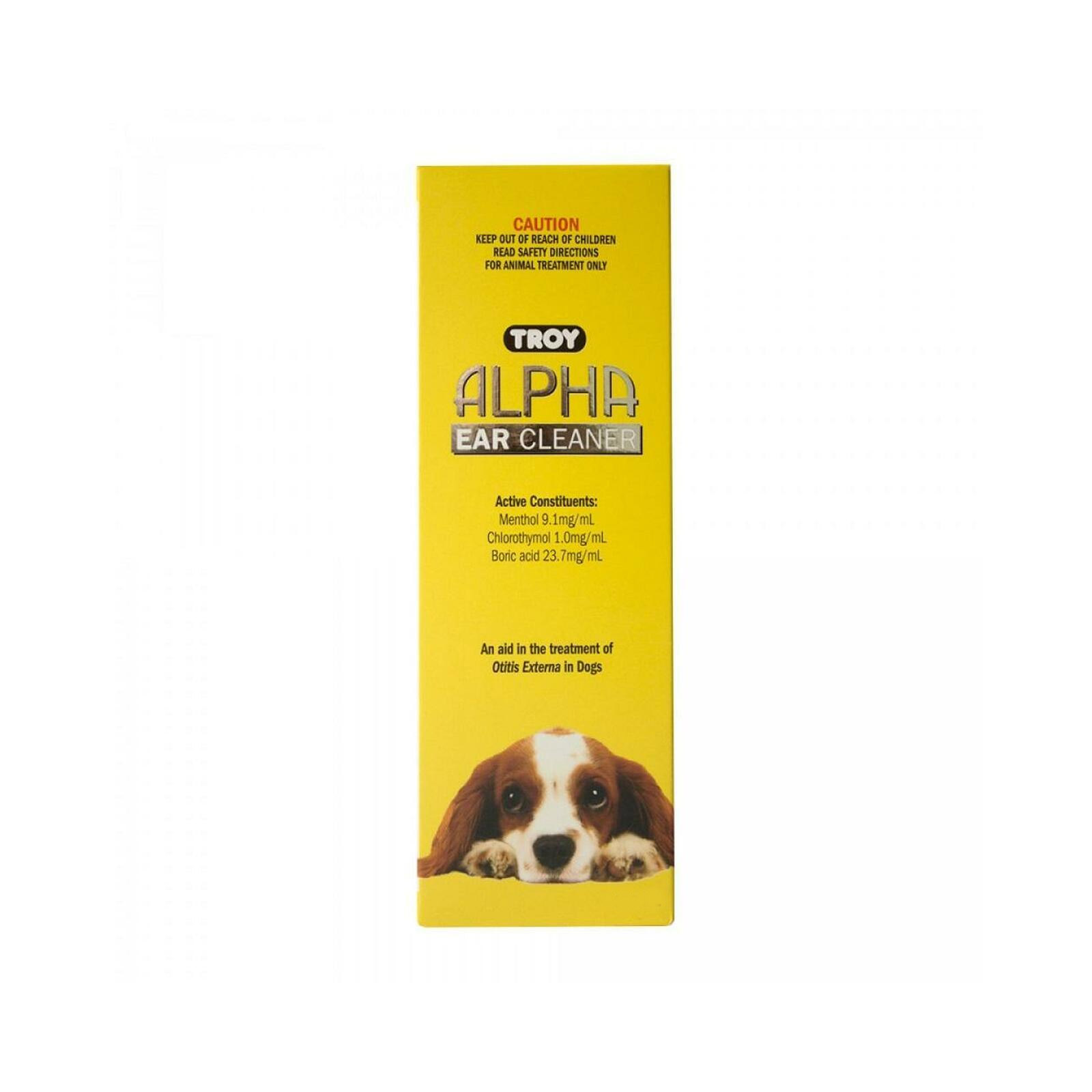 Troy Alpha Ear Cleaner For Dogs