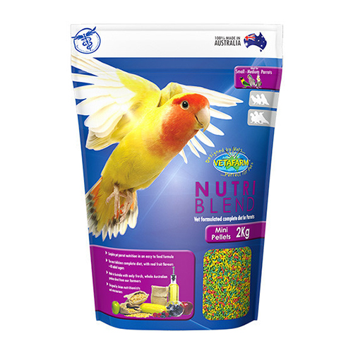 Vetafarm Nutriblend Mini Pellets for Birds