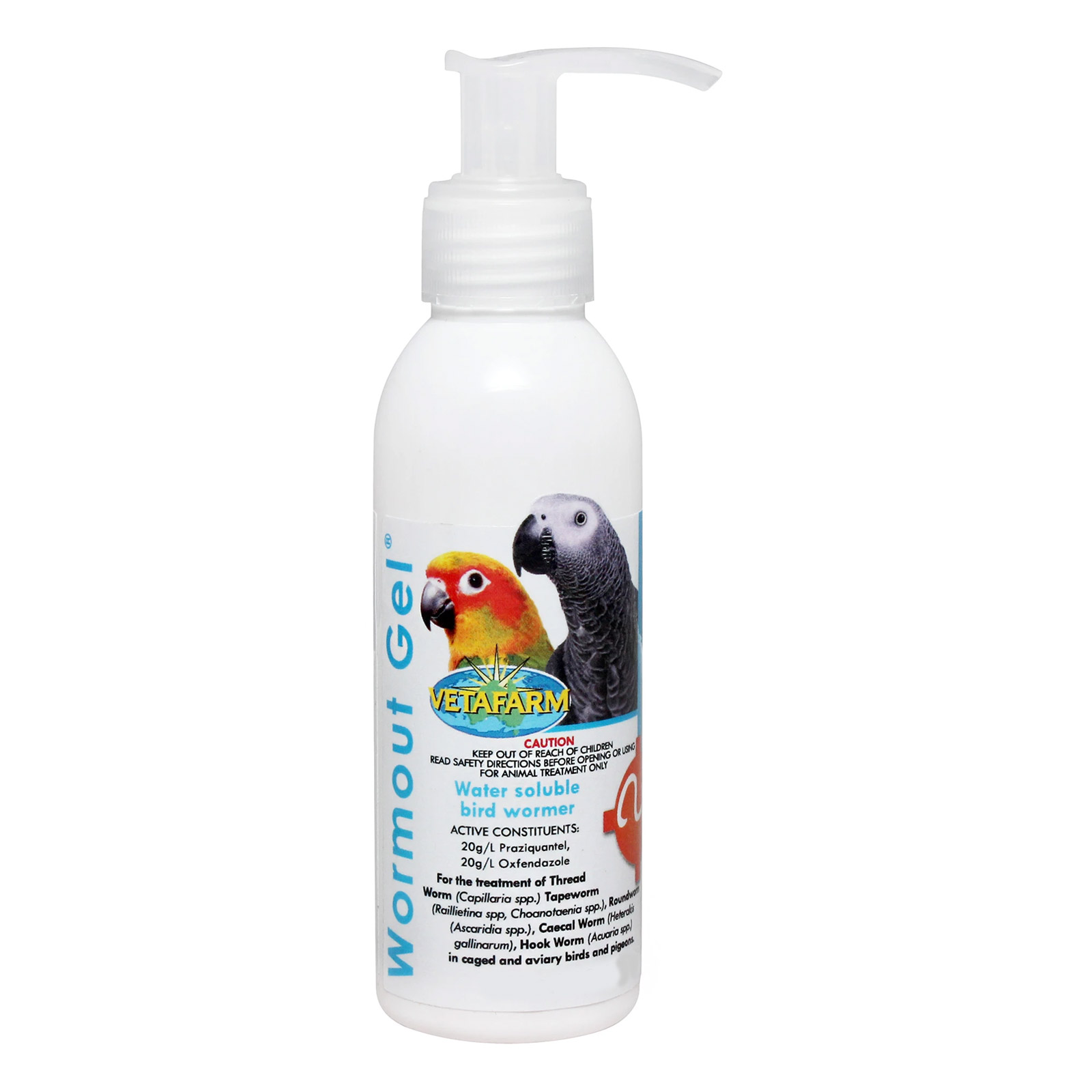 VetaFarm Wormout Gel for Birds for Birds