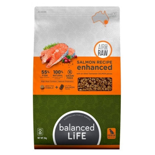 Balanced Life Enhanced Dry Dog Food With Salmon Pieces   2.5 Kgs