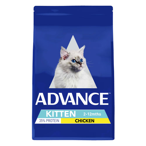 Advance Kitten Growth with Chicken Dry