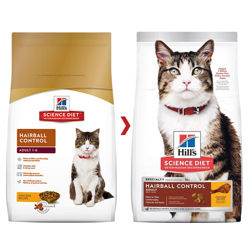 Hill's Science Diet Adult Hairball Control Chicken Dry Cat Food