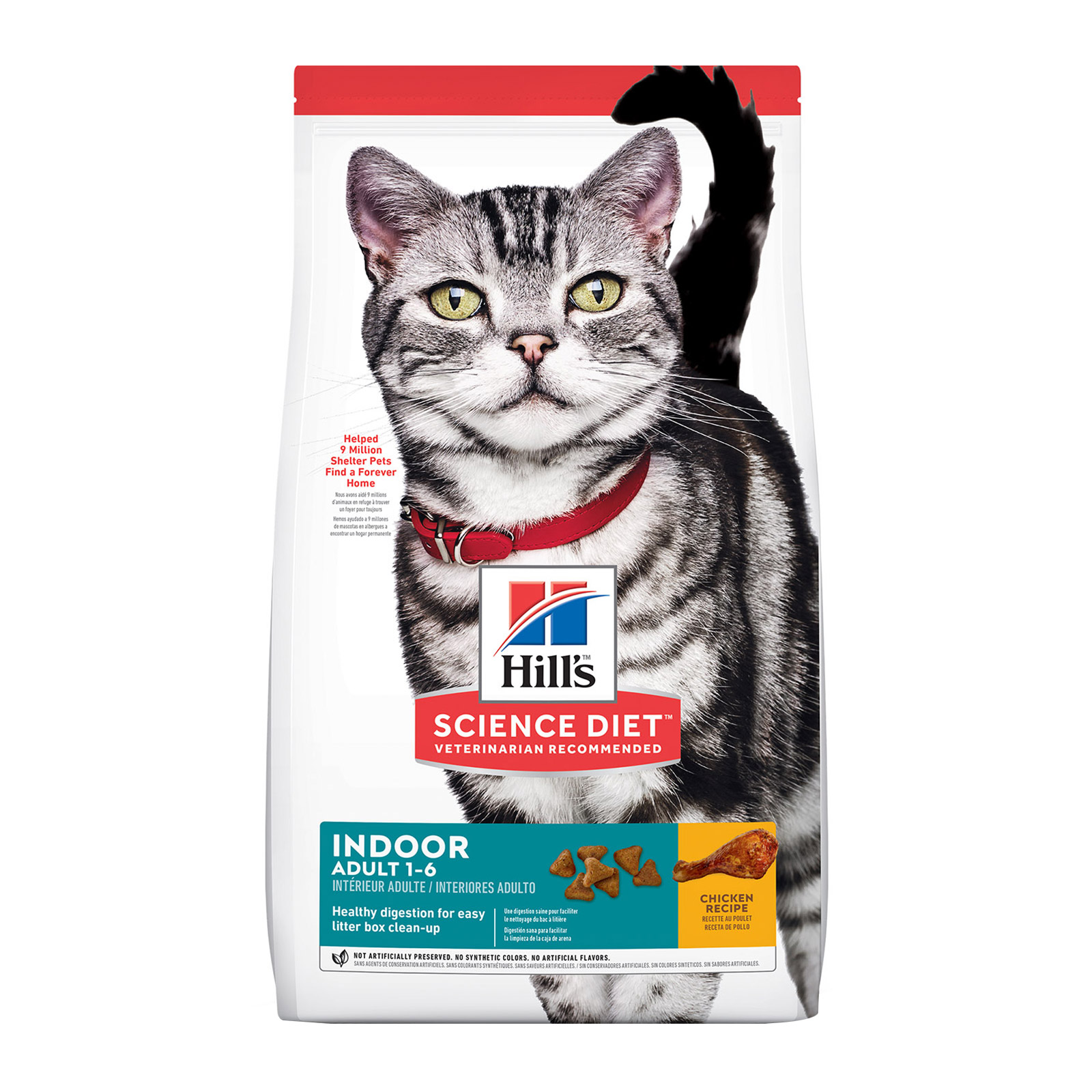 Hill's Science Diet Adult Indoor Chicken Dry Cat Food