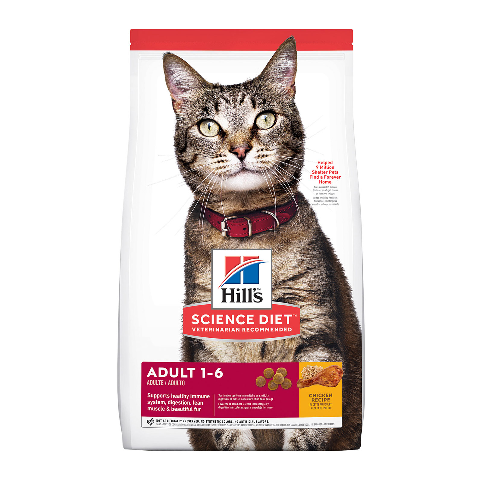 Hill's Science Diet Adult Chicken Dry Cat Food