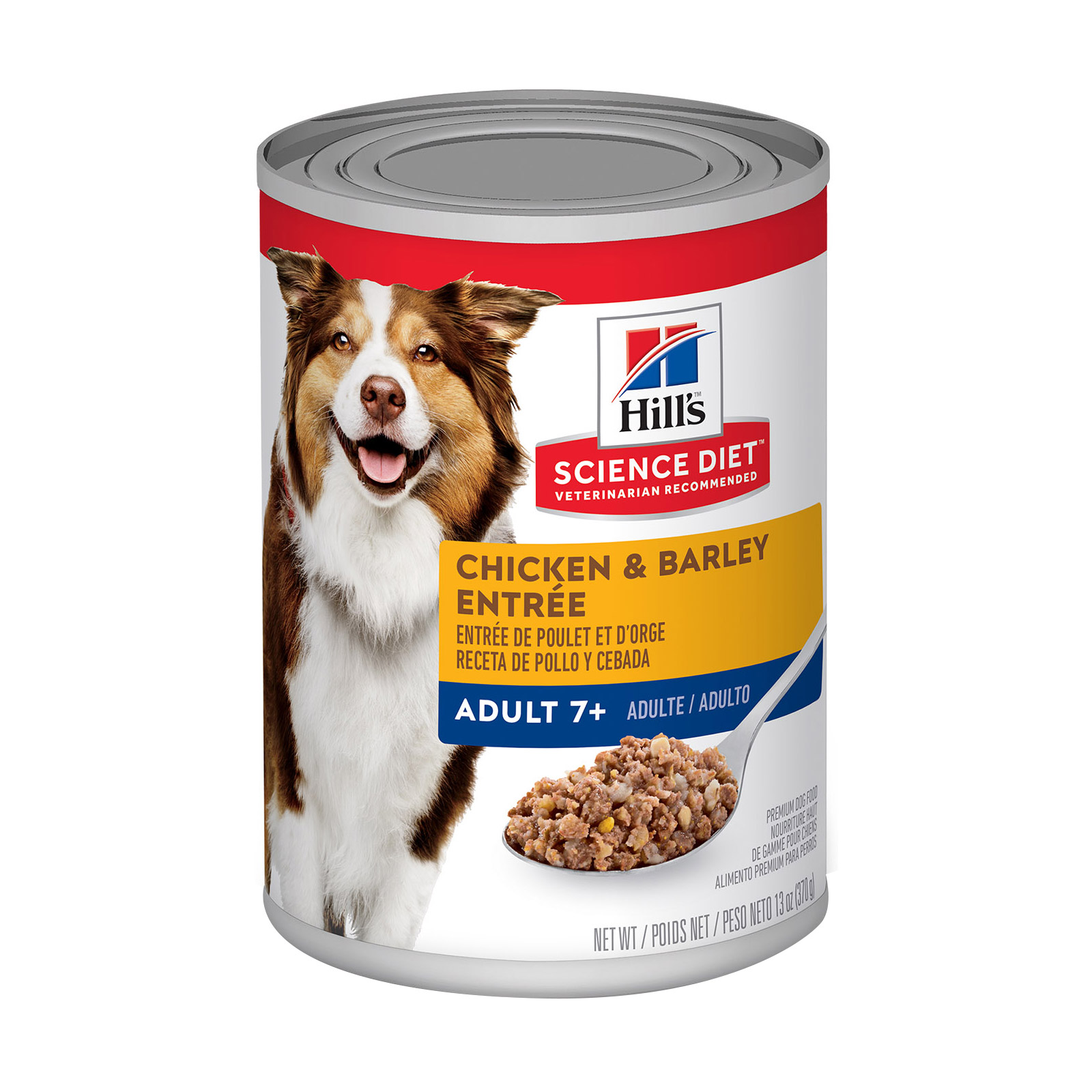 Hill's Science Diet Adult 7+ Chicken & Barley Entrée Senior Canned Dog Food