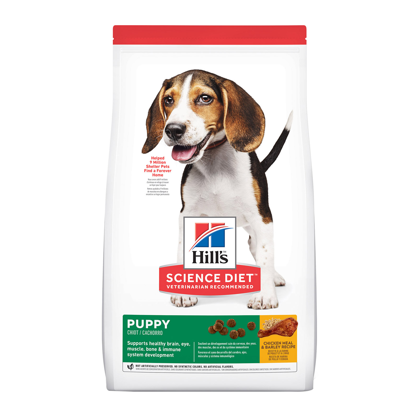 Hill's Science Diet Puppy Chicken Meal & Barley Dry Dog Food