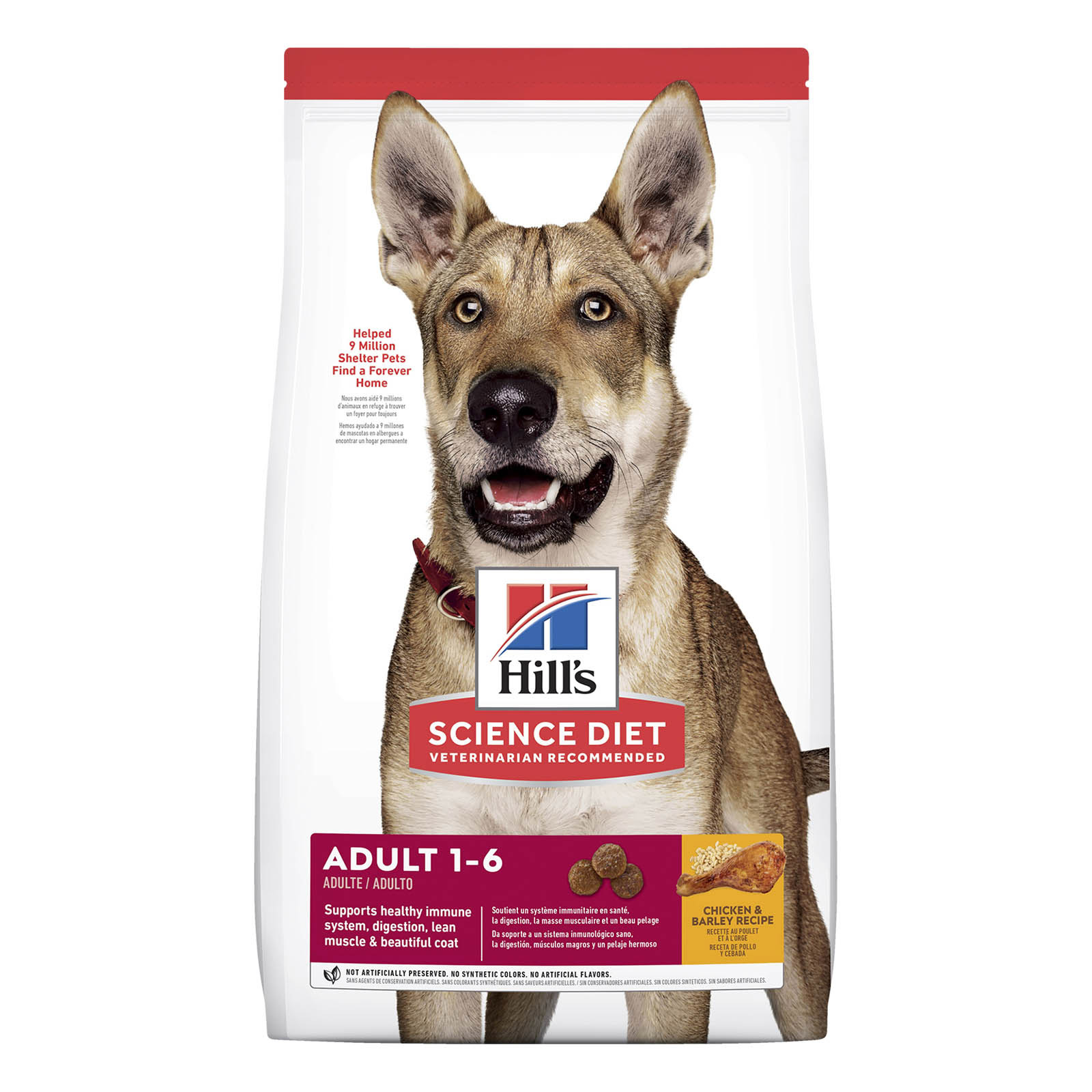 Hill's Science Diet Adult Chicken & Barley Dry Dog Food