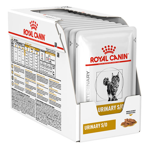 Royal Canin Feline Urinary S/O Food Pouch