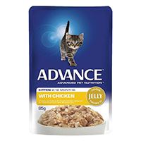 Advance Kitten Chicken in Jelly Wet Food Pouch