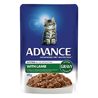 Advance Kitten Lamb in Gravy Cat Wet Food Pouch
