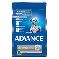 Advance Adult Dog Dermocare All Breed with Tuna & Rice Dry