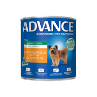 Advance Adult Dog All Breed Casserole with Chicken Cans