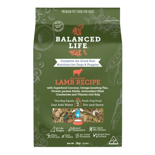 Balanced Life Dry Dog Food Lamb
