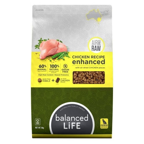 Balanced Life Enhanced Dry Dog Food With Chicken Meat Pieces