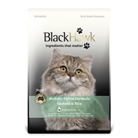 Black Hawk Feline Sea Food & Rice Dry