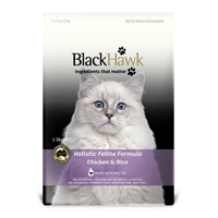 Black Hawk Feline Chicken & Rice Food