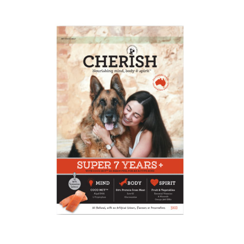 Cherish Super 7+ Years Salmon And Chicken Dry Dog Food