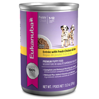Eukanuba Puppy Entree with Fresh Chicken & Rice Cans