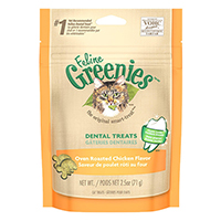 Greenies Feline Dental Treats Roasted Chicken Flavour for Cats