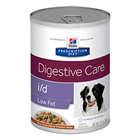 Hill's Prescription Diet i/d Low Fat Digestive Care Chicken & Vegetable Stew Canned Dog Food