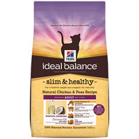 Hill's Ideal Balance Feline Slim & Healthy Natural Chicken and Peas Dry food