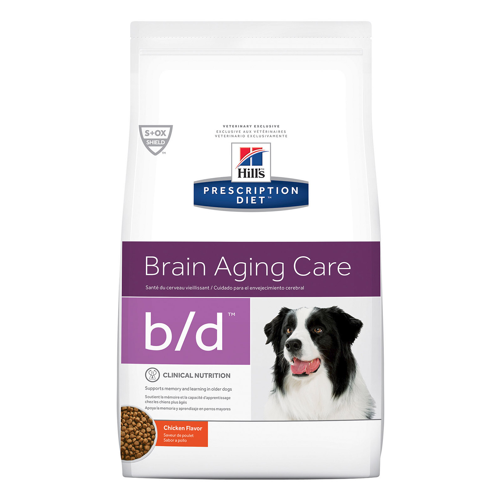 Hill's Prescription Diet b/d Brain Ageing Care with Chicken Dry Dog Food