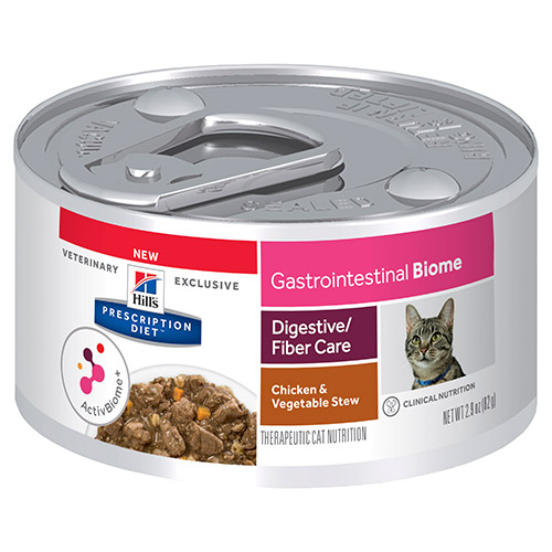 Hill's Prescription Diet Gastrointestinal Biome Digestive Fibre Care Stew Canned Cat Food