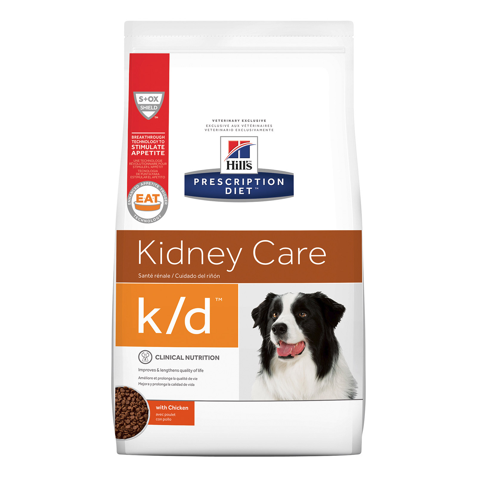 Hill's Prescription Diet K/D Kidney Care With Chicken Dry Dog Food   7.98 Kgs