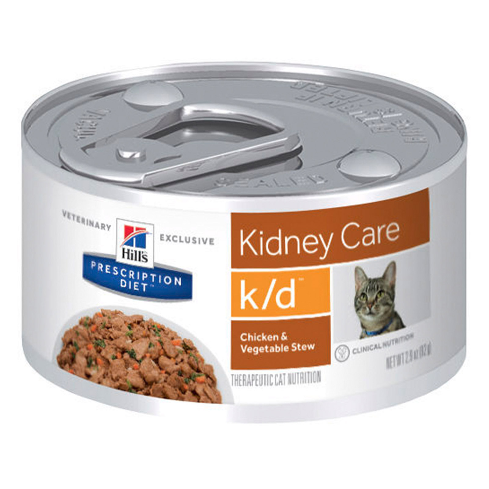 Hill's Prescription Diet K/D Pâté with Chicken Feline Cans